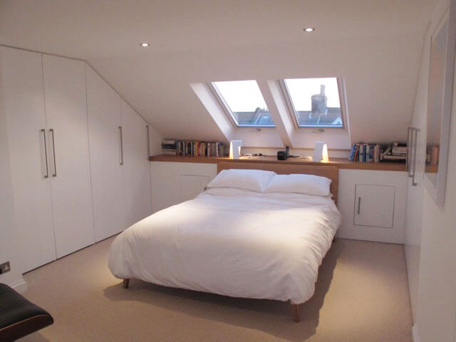 Soundhouse loft conversions in brighton hovebefore and for 2 bedroom lofts