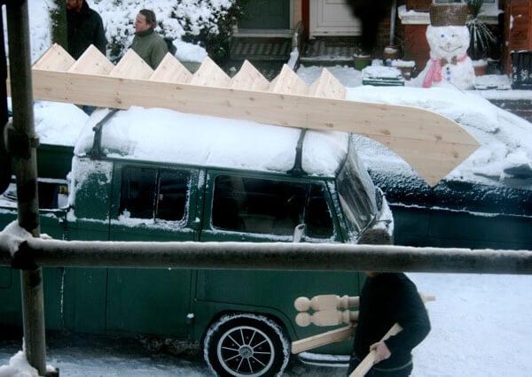 Soundhouse van