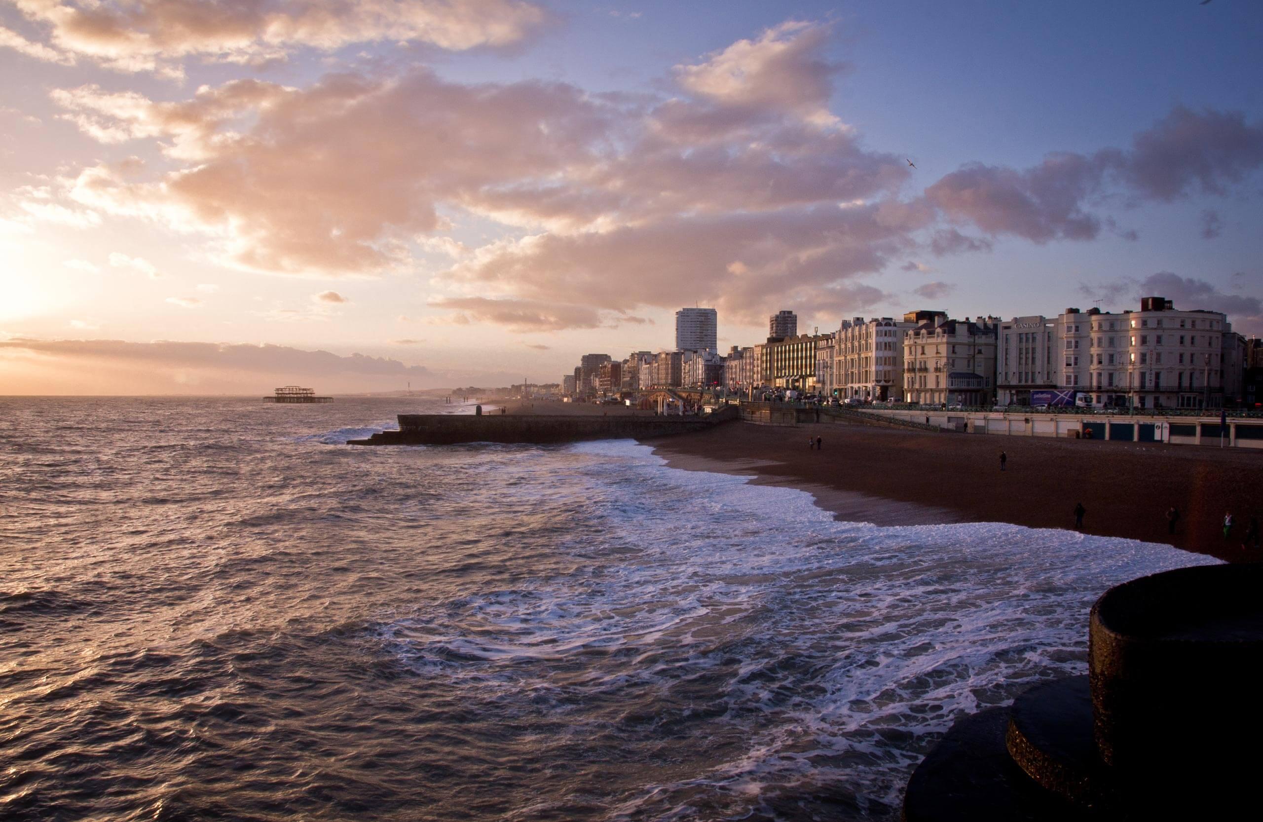 Brighton-beach-sunset2